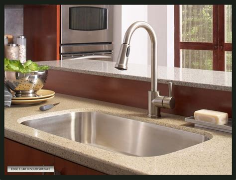 best kitchen faucet how to choose a sink for solid surface countertops
