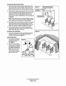 Toro 1 Line Electric Valve Model 264 Installation