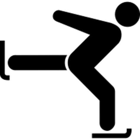 Figure-skating icons | Noun Project