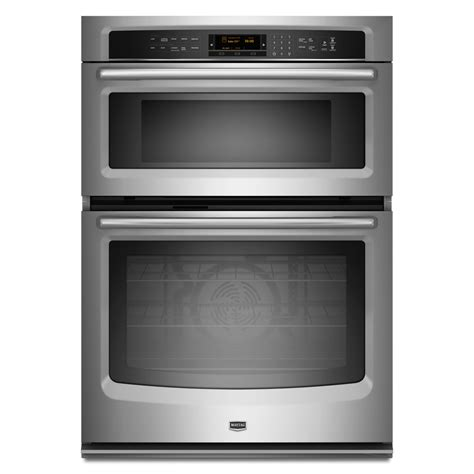 combo microwave and oven maytag mmw9730as 30 in electric combination wall oven