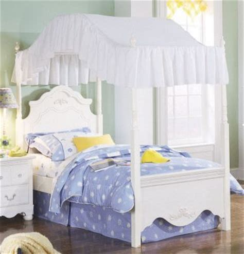 hillsdale shops twin  canopy bed girl