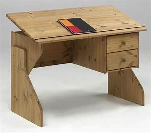 Schreibtisch Kiefer Massiv : massivholz schreibtisch h henverstellbar kent holz kiefer massiv gelaugt ge lt ebay ~ Orissabook.com Haus und Dekorationen