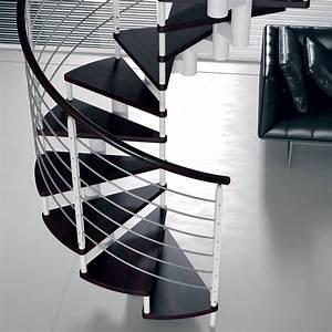 Escalier Bois Blanc : escalier limon central normandie ~ Melissatoandfro.com Idées de Décoration