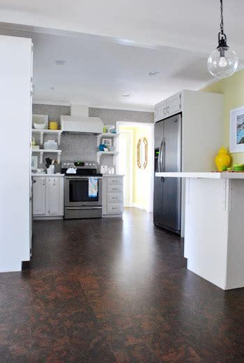 completing  kitchens cork floor installation young