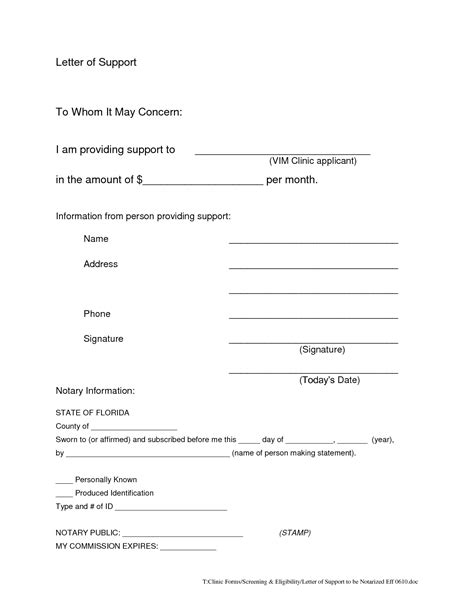 write  notarized letter world  reference