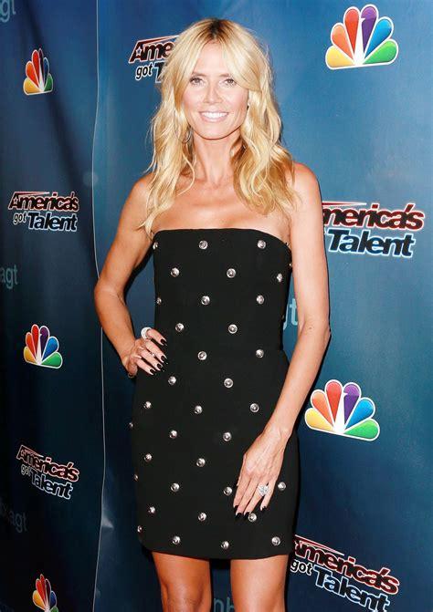Heidi Klum America Got Talent Post Show Red Carpet