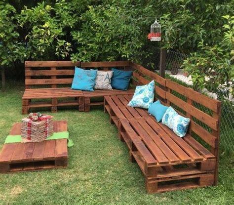 Banc De Jardin En Palette 1001 id 233 es pour fabriquer un banc en palette charmant