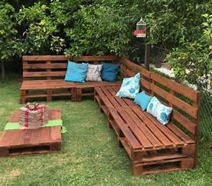 Fabriquer Un Banc De Jardin Original : 1001 id es pour fabriquer un banc en palette charmant ~ Melissatoandfro.com Idées de Décoration