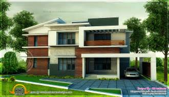 five bedroom house 5 bedroom modern home in 3440 sq floor plan included indian house plans