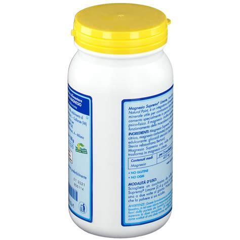 magnesio supremo bambini magnesio supremo 174 lemon shop farmacia it