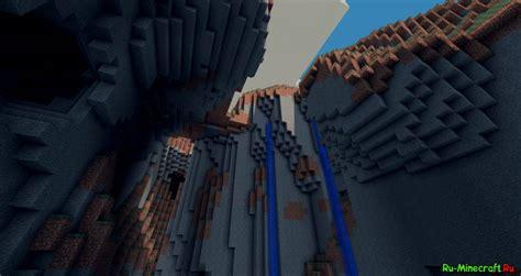 [125] Tall N' Deep Mod  красивая природа в Minecraft
