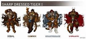 Sharp Dressed Tiger I  U2014 Weasyl