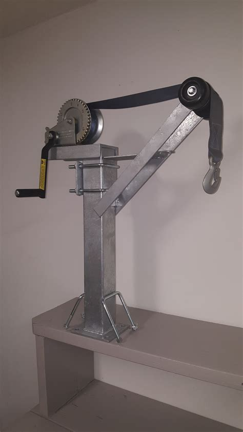 Galvanized Boat Winch by New Products Diematic Tool Boat Trailer Parts