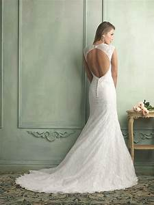 Lace backless wedding dresses dresscab for Lace backless wedding dress