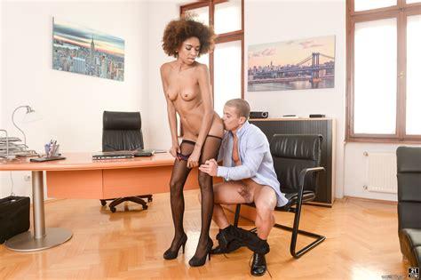 Interracial Office Orgasm Scene Pornmania
