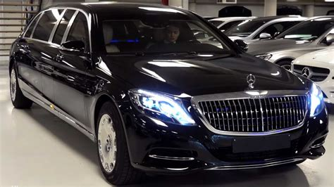 As with all things maybach ironically, the maybach's trunk capacity is quite a bit smaller than that of the model on which it's based: Rare Look At The 2019 Mercedes-Maybach S600 Pullman Guard