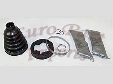 BMW Front Axel Inner Joint Axel Boot Kit Germany Genuine