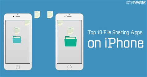 share apps on iphone best 10 file sharing apps on iphone Share