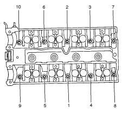 2000 Daewoo Leganza Exhaust Diagram by Bolt Diagram For Heads 2000 Bravada 4 3 Fixya