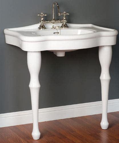 lavatory consoles victorian style  legged bathroom sinks