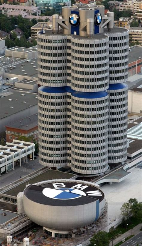 bmw siege social bmw headquarters munich germany architecture
