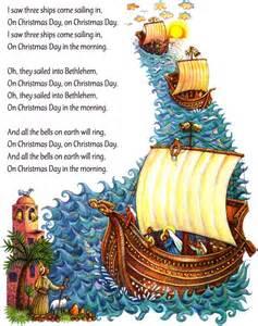I Saw Three Ships Christmas
