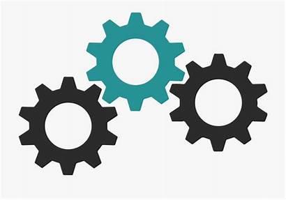 Gears Clipart Gear Engranajes Train Geometry Dash