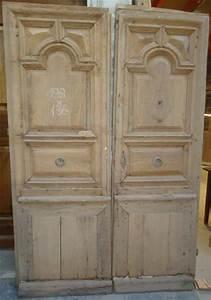 portes d39entree anciennes pleines 2 vantaux vente de With porte entrée 2 vantaux