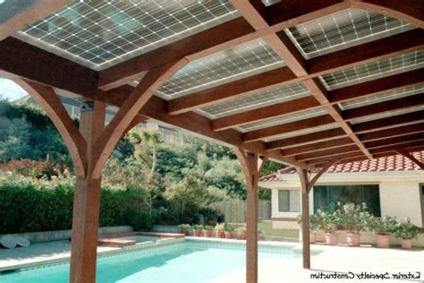 solar panel patio cover solar patio cover exterior victorian with metal garden statues and yard art