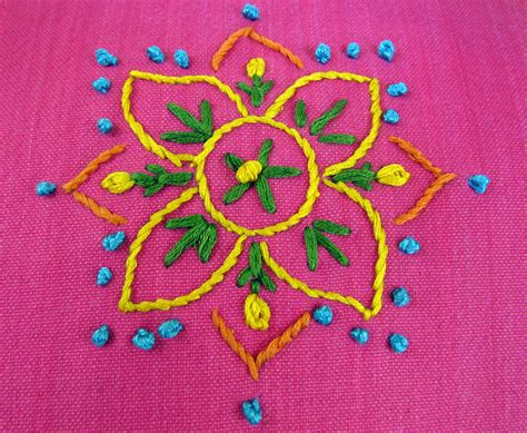Hand Embroidery Patterns Pillow Covers Theartoftheoccasion