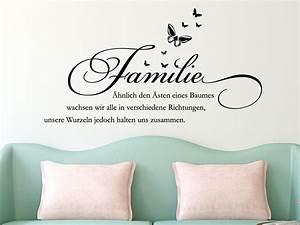 Wandtattoo Sprüche Familie : wandtattoo familie hnlich den sten eines baumes ~ Frokenaadalensverden.com Haus und Dekorationen