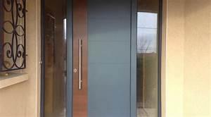 merveilleux modele porte interieur maison 4 galerie With porte d entrée alu avec meuble salle de bain 80 cm bois