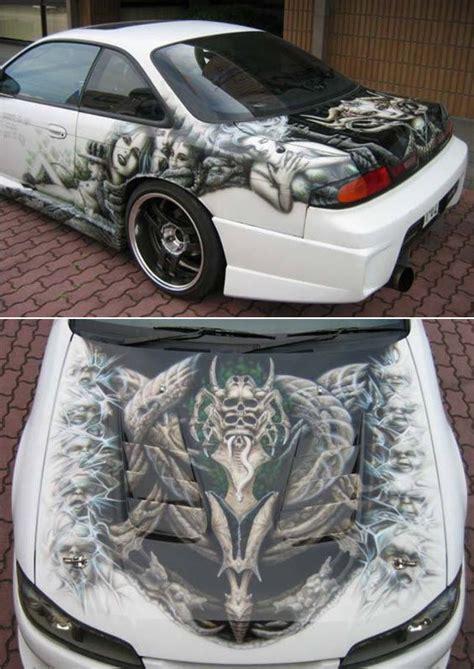 airbrushed car  tomohiro airbrushing pinterest