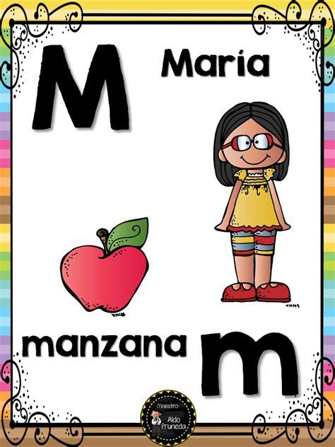 abecedario nombres propios 15 imagenes educativas