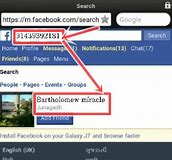 How to search someone on facebook using phone number