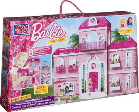 barbie huis te koop bol mega bloks barbie droom villa speelset mega