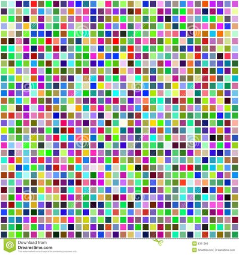 bathroom mosaic wall tiles colorful multi color seamless square tiles stock vector