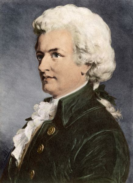 Mozart. Portrait of Wolfgang Amadeus Mozart #5882926 ...