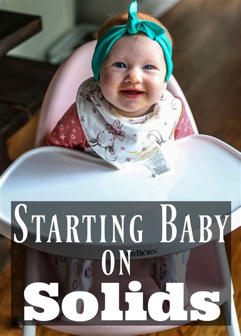 Starting Baby On Solids Happily Hughes
