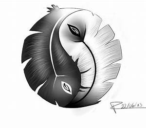 Dessin De Plume Facile : ying yang plume dessin de draymie post sur tvhland ~ Melissatoandfro.com Idées de Décoration