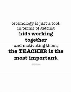 Teacher Quote B... Computer Teachers Quotes