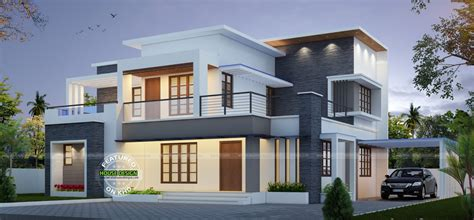 small house designs and floor plans best contemporary inspired kerala home design plans