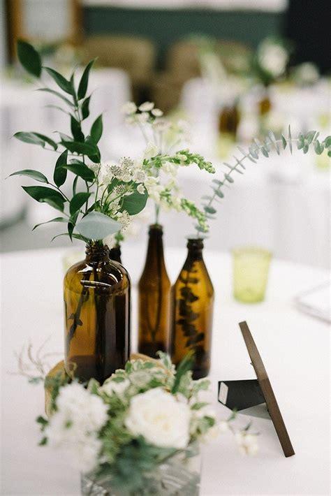 trending  industrial wedding centerpiece ideas