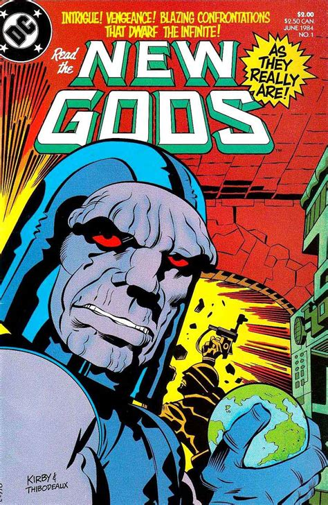 New Gods v2 #1 - Jack Kirby cover & reprints - Pencil Ink