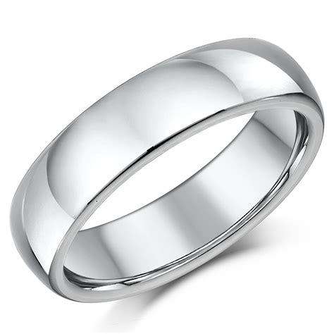 titanium court shaped wedding ring court shape