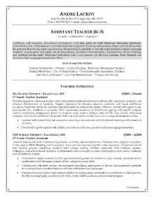 resume sle for educational assistant assistants resume sales lewesmr