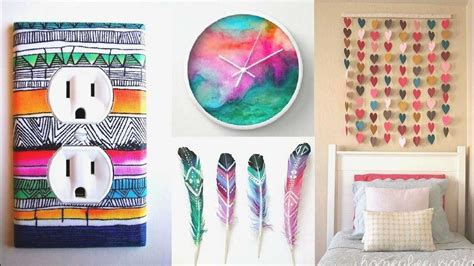 manualidades para decorar tu cuarto como decorar tu cuarto modelos impresionante manualidades