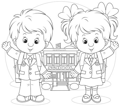 back to school coloring pages titus