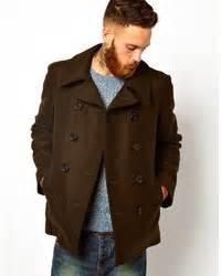 brown mens pea coat sm coats With brown pea coat mens