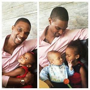 Chris Bosh and his kids | So cute!! | Pinterest